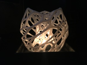Cellular Thing for Tea Light Candle