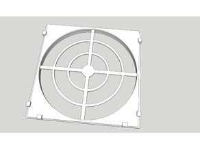 PC Fan Filter Cover (slide in/out)