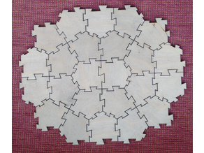 Tabbed Cairo and Prismatic tiles
