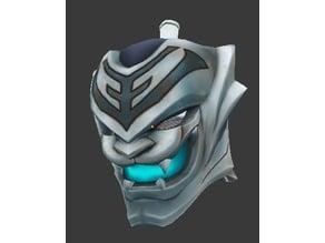 Overwatch Genji Baihu helmet