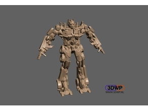 Transformers Optimus Prime (Solid Model)