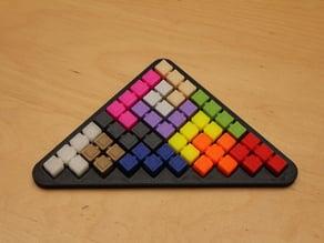 Blocky Pyramid Puzzle