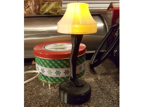 Christmas Story leg lamp remix for LED lighting
