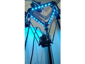 LED Strip Mounts, MicroMake Delta