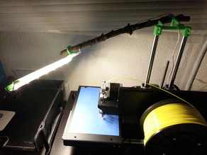 IKEA Ledberg for Printrbot - Let There Be GREEN Light!