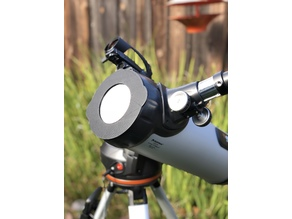 Solar Filter Cap for Celestron 114 LCM Reflector Telescope