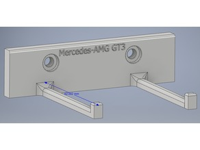 Mercedes-AMG GT3 Wallmount