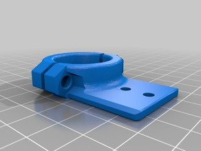 Rotated Drag-Chain clamp for MPCNC