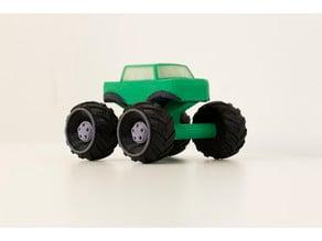 Multi-Color Mini Monster Truck