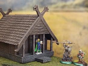Fantasy viking house