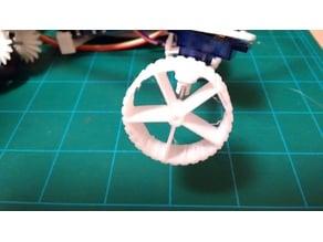 Lightweight Wheel for 2mm axle