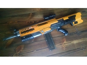 "Nerf Longshot ""Conquerror"" Picatinny Toprail"