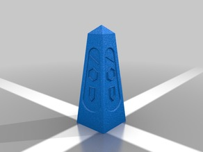 Dark Obelisk for 15/18mm War game