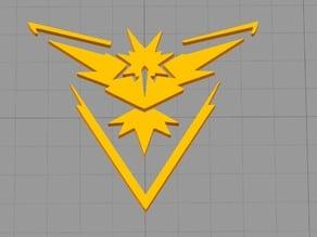 Team INSTINCT Pokemon GO Logo