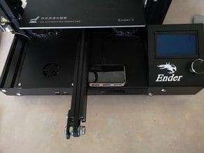 Raspberry pi housing and drawer for Ender-3