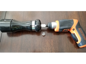 Pepper Grinder Screwdriver Attachment