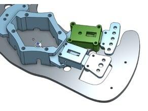 usb-encoder housing with clutch