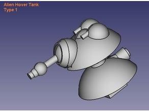 Alien Hover Tank Type 1
