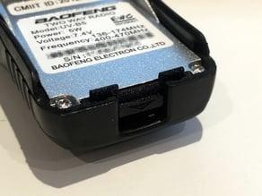 Baofeng UV-B5 / UV-B6 battery latch replacement