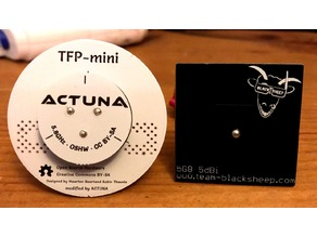 Actuna Triple Feed Patch Mini (TFP-mini)