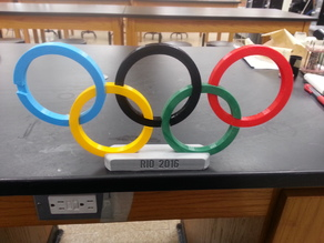 Base for Olympic Rings