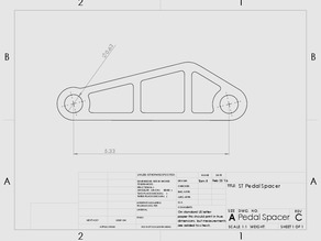 Fiesta ST Pedal Spacer