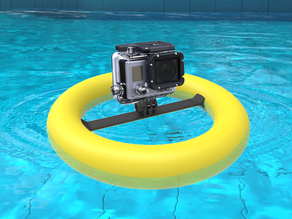 Floating mount for Gopro