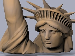 High Resolution Statue of Liberty, Planet of the Apes Edition