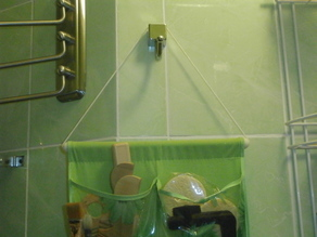Tube cap for organizer
