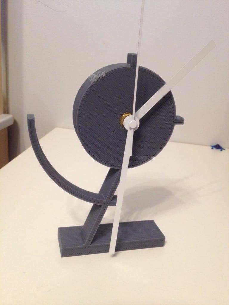 Modern Desk Clock by speedpjg - Thingiverse