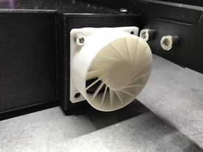 Silencer for 40x40mm fan (e.g.Noctua)