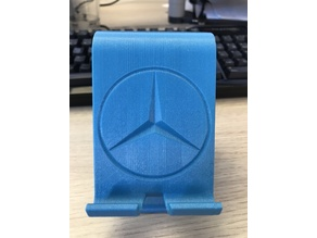 Smartphone holder with Mercedes Star