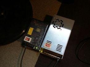 Power Supply voltmeter bezel