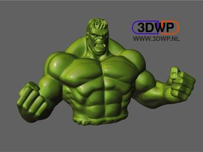 Hulk Sculpture (Statue 3D Scan)