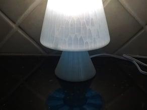 Mushroom inspired Lamp or LED Tea Light