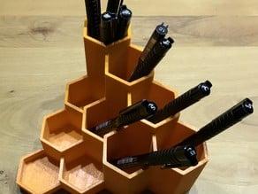 Hexagon Pencil Holder