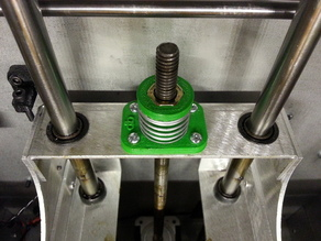 Solidoodle 2 anti-backlash assembly for aluminum z-axis carrier