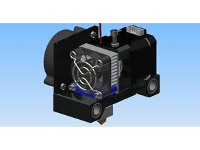 Anet A6 A8 extruder fan support