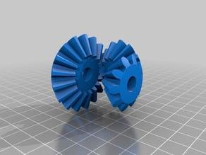bevel gears 30° 45° 60°