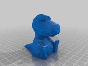 Low Poly - Blocky Baby Dino