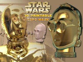 C3P0 Wearable Mask (Hi Res)