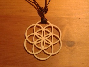 Egg of life / Seed of life pendant