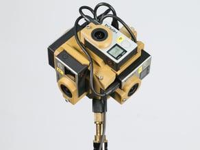 [Ver2] 360 Spherical Video Mount for GoPro Hero3/4
