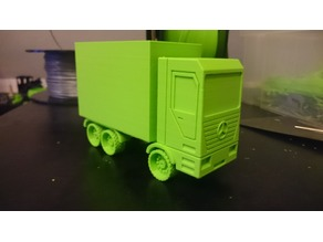 Mercedes Toy Truck