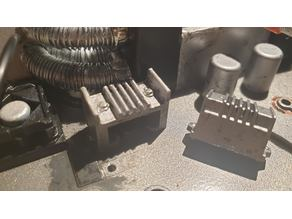 BTTF Time machine (1:8) Oscilloscope Heatsink (print at 12%!)