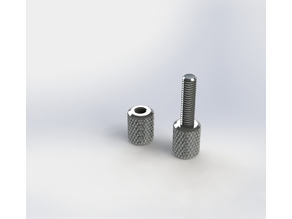 Knurling bolts and nuts 4mm 6mm 8mm 10mm 12mm