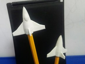 Airplane pencil top
