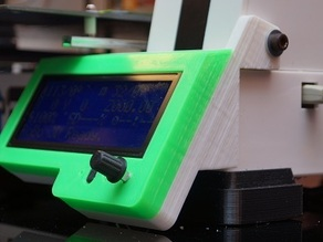 ROBO3D reprapdiscount LCD case custom fit