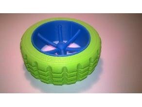 K'NEX wheel
