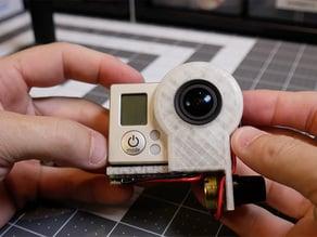 GoPro ring light holder/diffuser